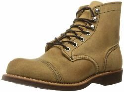 Red Wing Heritage Menand039s Iron Ranger Work Boot Hawthorne Muleskinner 12 D Us