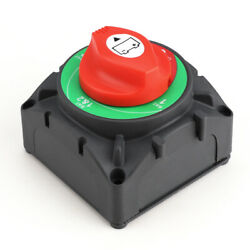 Dual Battery Selector Switch Disconnect Cut Off Power For Marine Boat Vehicles