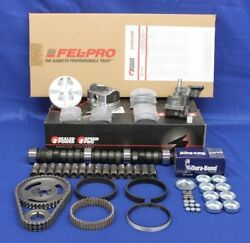 Race 302 5.0 Ford 1963-82 Master Engine Rebuild Kit Stage 4 Cam+forged Pistons++