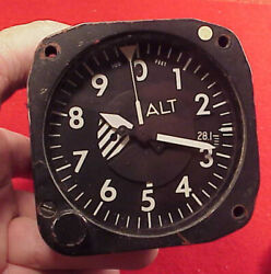 Altimeter 80.000 Ft A80-aau -7/a/a Aerosonic Corporation Clearwater Florida