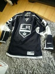 La Kings Johnathan Quick Authentic Jersey Reebok Size S. Only Wore Once