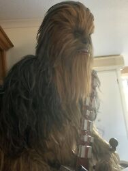 Star Wars Chewbacca 1/1 Life size Prop Statue Bowcaster Hot Toys Sideshow Realis