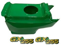 New Lower Hood And Set Of 2 Decals Replaces Am132688 M149592 Fits John Deere Gx255