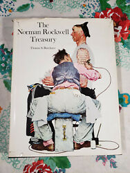 The Norman Rockwell Treasury By Thomas S. Buechner 1997, Hardcover Ba