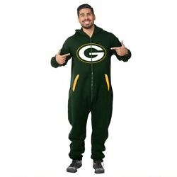 Forever Collectibles Nfl Unisex Green Bay Packers Logo Jumpsuit, Green