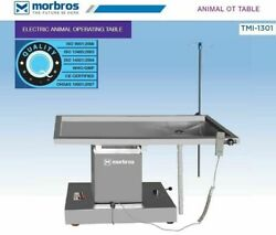 Tmi 1301 Veterinary Operating Surgical Animal Ot Table With Up And Down Dsdf