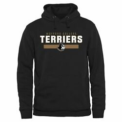 Wofford Terriers Black Team Strong Pullover Hoodie