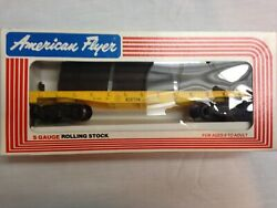 American Flyer Lionel 1983 Boston And Maine Log Carrier With Logs 9002