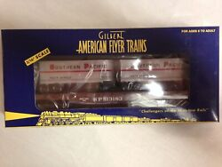 American Flyer 2003 Southern Pacific Flat Car With Piggyback Trailers 48532