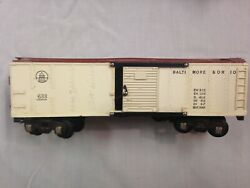 A.c. Gilbert American Flyer 1952 Bando Reefer, Tuscan And White 633