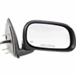 Fits 07-09 Chry Aspen Right Pass Mirror Assembly Power Chrome W/ Heat Memory