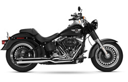 Magnaflow Chrome Performer 2 Into 1 Exhaust Harley Softail 2000-2017 7211207