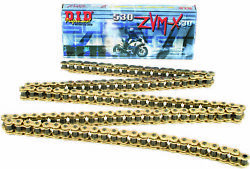 D.i.d. Gold Super X-ring Zvmx Motorcycle Chain 530 25ft Roll 530zvmxg-25ft