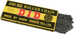 D.i.d. 530 Standard Series Non O-ring Motorcycle Chain 100 Ft Natural 530-100 Ft