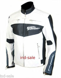 Genuine Leather Jacket Custom Tailor Made All Sizes And Fast And Furious Van Diesel