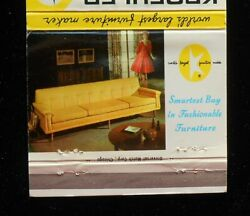 1950s Kroehler Sofa Mcvey's Furniture And Gift House Danville Pa Montour Co Mb