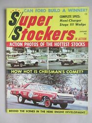 Super Stockers In Action Magazine 1 - January 1964