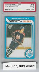 1979 OPC set (396) PSA 9 Gretzky 5th best PSA rating 9.13. 1979-80 O Pee Chee