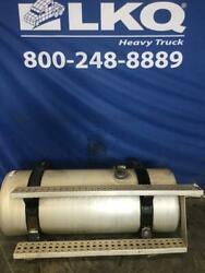 2006 Freightliner Columbia 112 100 Gallon Fuel Tank W/ Straps And Steps Left Side