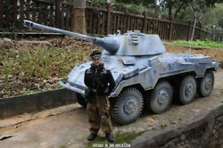 1/6 Scale Vehicle Wwii German Sd.kfz.234/2 Actionfigur Mode Forum Tank