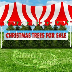 CHRISTMAS TREES FOR SALE Advertising Vinyl Banner Flag Sign LARGE SIZE HOLIDAYS