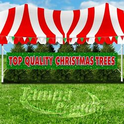 Top Quality Christmas Trees Advertising Vinyl Banner Flag Sign Xxl Holidays