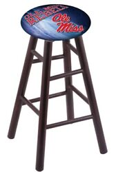 Maple Bar Stool In Dark Cherry Finish With Oleand039 Miss Seat By The Holland Bar ...