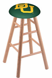 Holland Bar Stool Co. Oak Counter Stool In Natural Finish With Baylor Seat Rc...