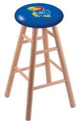Holland Bar Stool Co. Oak Counter Stool In Natural Finish With Kansas Seat Rc...