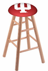 Holland Bar Stool Co. Oak Counter Stool In Natural Finish With Indiana Seat R...