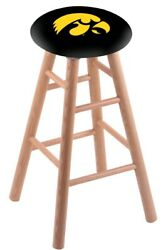 Holland Bar Stool Co. Oak Counter Stool In Natural Finish With Iowa Seat Rc24...