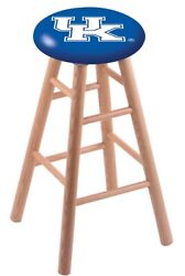 Holland Bar Stool Co. Oak Counter Stool In Natural Finish With Kentucky Uk ...