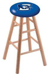 Holland Bar Stool Co. Oak Counter Stool In Natural Finish With Creighton Seat...
