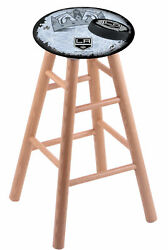 Holland Bar Stool Co. Oak Counter Stool In Natural Finish With Los Angeles Ki...