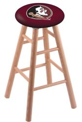 Holland Bar Stool Co. Oak Counter Stool In Natural Finish With Florida State ...