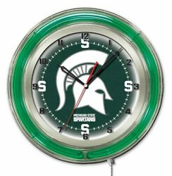 Holland Bar Stool Co. Officially Licensed Michigan State University Double Ne...