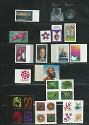 2019 Us Complete Stamp Year Set Mint Nh As The Scans Show Including 122 Stamps