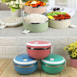 700ml 304 Stainless Steel Insulated Lunch Box Children Students Food Container*1 $11.36