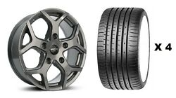 18 Gm Viper 4 Alloy Wheels + Xl Tyre Ford Transit Tourneo Rated 1250kg 5x160
