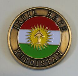 Central Intelligence Agency Cia Irbil / Erbil Station Kurds Challenge Coin