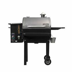 Camp Chef Pg24mzg Smokepro Slide Smoker With Fold Down Front Shelf Wood Pelle...