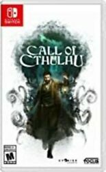 Call Of Cthulu For Nintendo Switch [new Video Game]