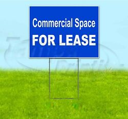 Commercial Space For Lease 18x24 Yard Sign With Stake Corrugated Bandit Usa Rent