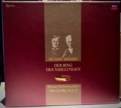 ESOTERIC ESSD-90021~34 SACD Box: Wagner - The Ring - Solti - JAPAN 2009 As NEW
