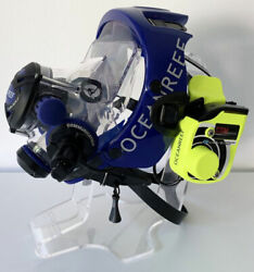 Ocean Reef G Divers Full Face Mask W/2nd Stage Regulator Gsm Comm And Extender Kit