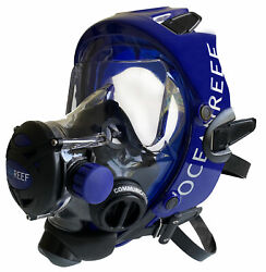 Ocean Reef Space Extender Full Face Mask System W/sl35 1st Stage And Optional Octo