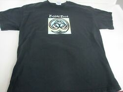 Vtg 90s Rusted Root Band Concert Alternative T Shirt Govand039t Mule Hanes Tag Sz L