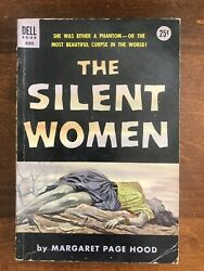 The Silent Women Good Dell 880 Margaret Page Hood 1953