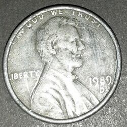 1989 D Lincoln Penny Silver 2.4grams