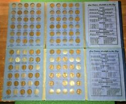 Lincoln Head Cent Collection 1909 To 1959 60+ Coin Total
